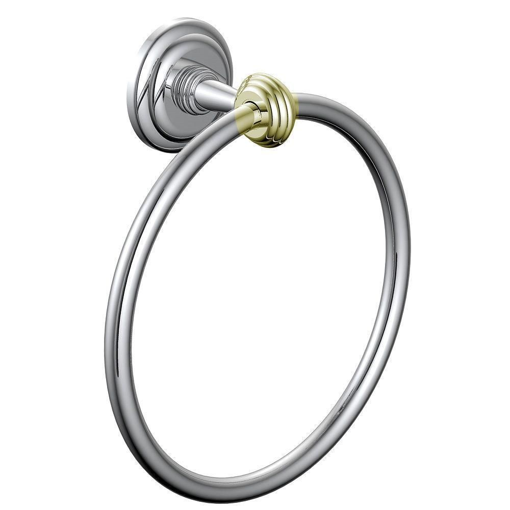 Pegasus B3250200CPBV 4000 Series Towel Ring in Polished Chrome ...