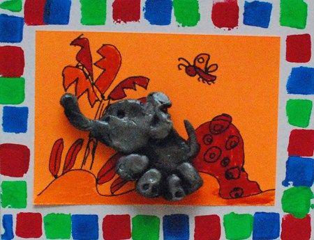 elmer the elephant 3-D, gr 2
