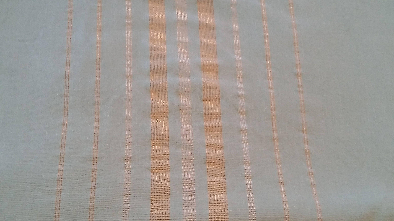 Mid Century Modern Mint Green Gold & Silver Rectangular Tablecloth