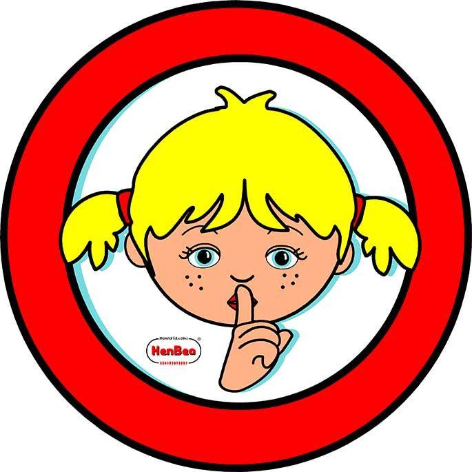 Silencio  preescolar  Pinterest  Preescolar y Deberes