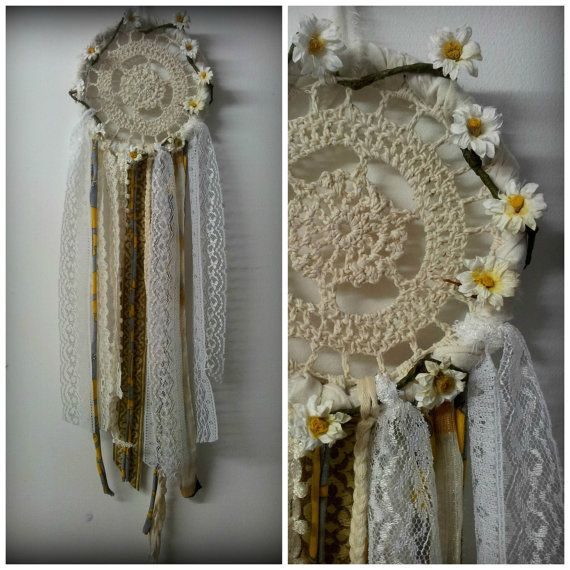 Boho Hippie Indie Wedding Dreamcatcher Native by mistysoul on Etsy, $23.00 soooo pretty...want lol.