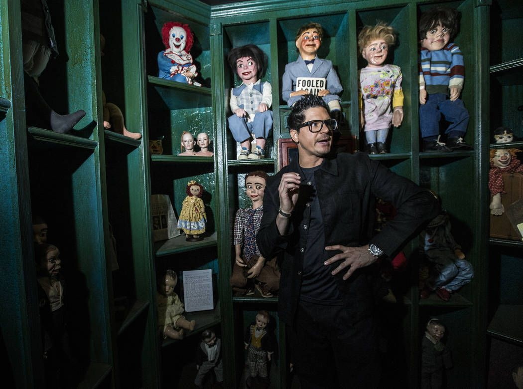 Zak Bagans Haunted Museum Presents Creepy Collection In