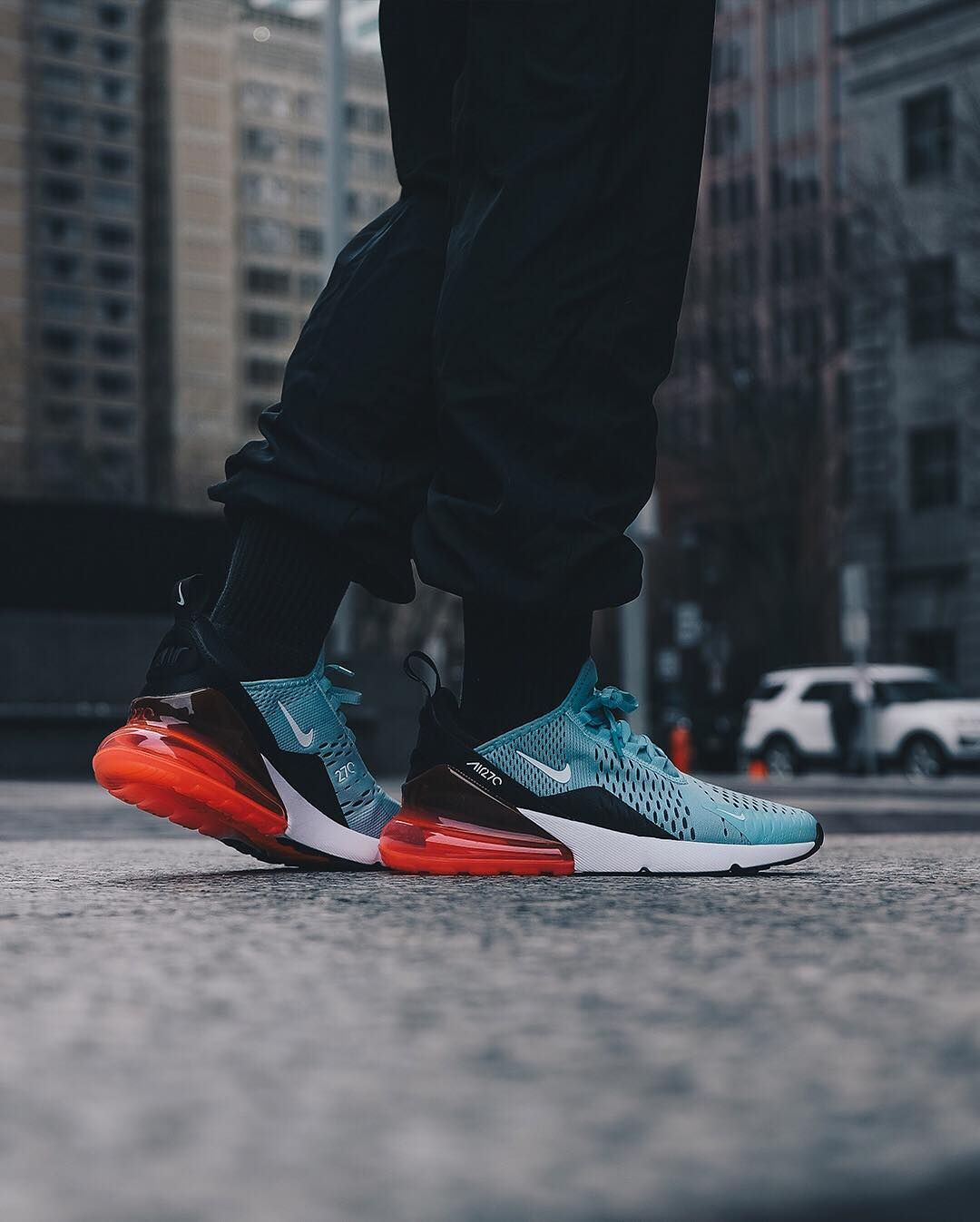 in stock 5f009 67def Nike Air Max 270 Ocean Bliss   Hot Punch Credit   Ruvilla