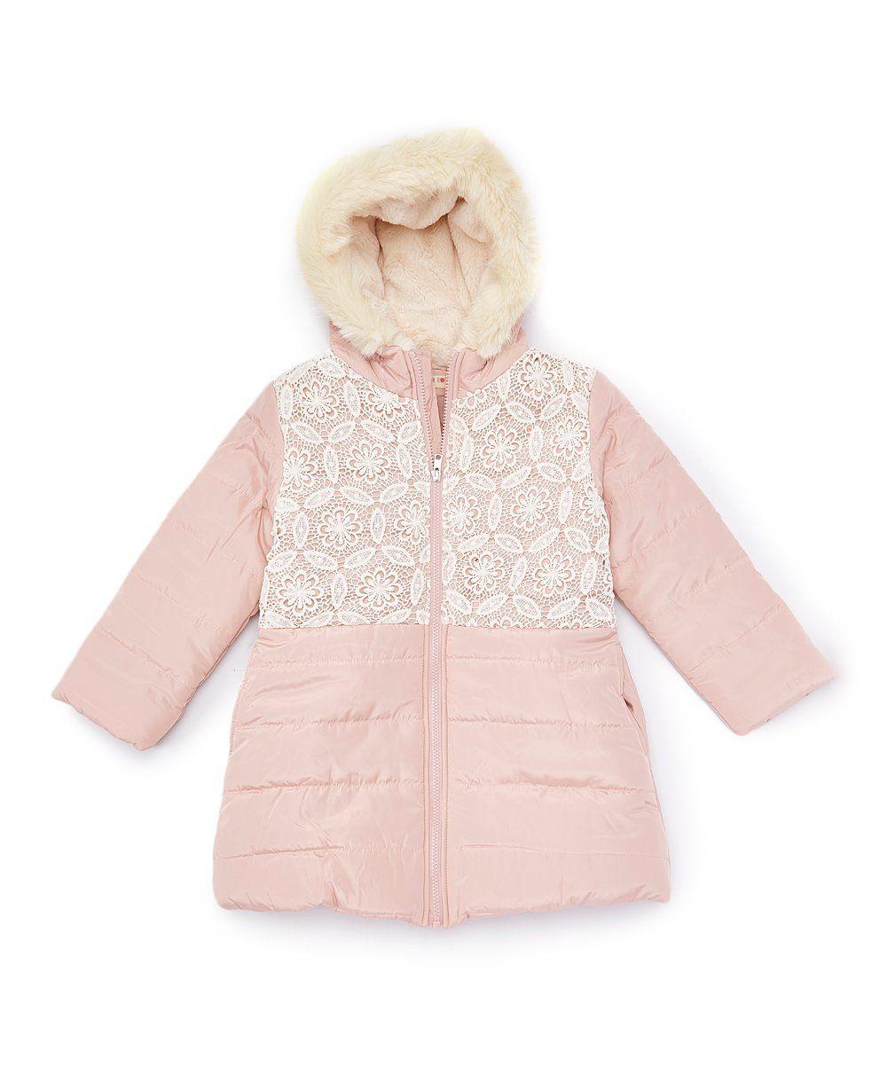 4e869ce6ef4f Pink Puffer Coat - Girls