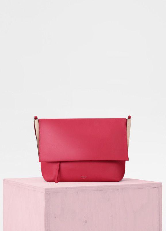 514ff9d92 Flap Clasp Bag in Smooth Calfskin - セリーヌについて | Celine | Bags ...