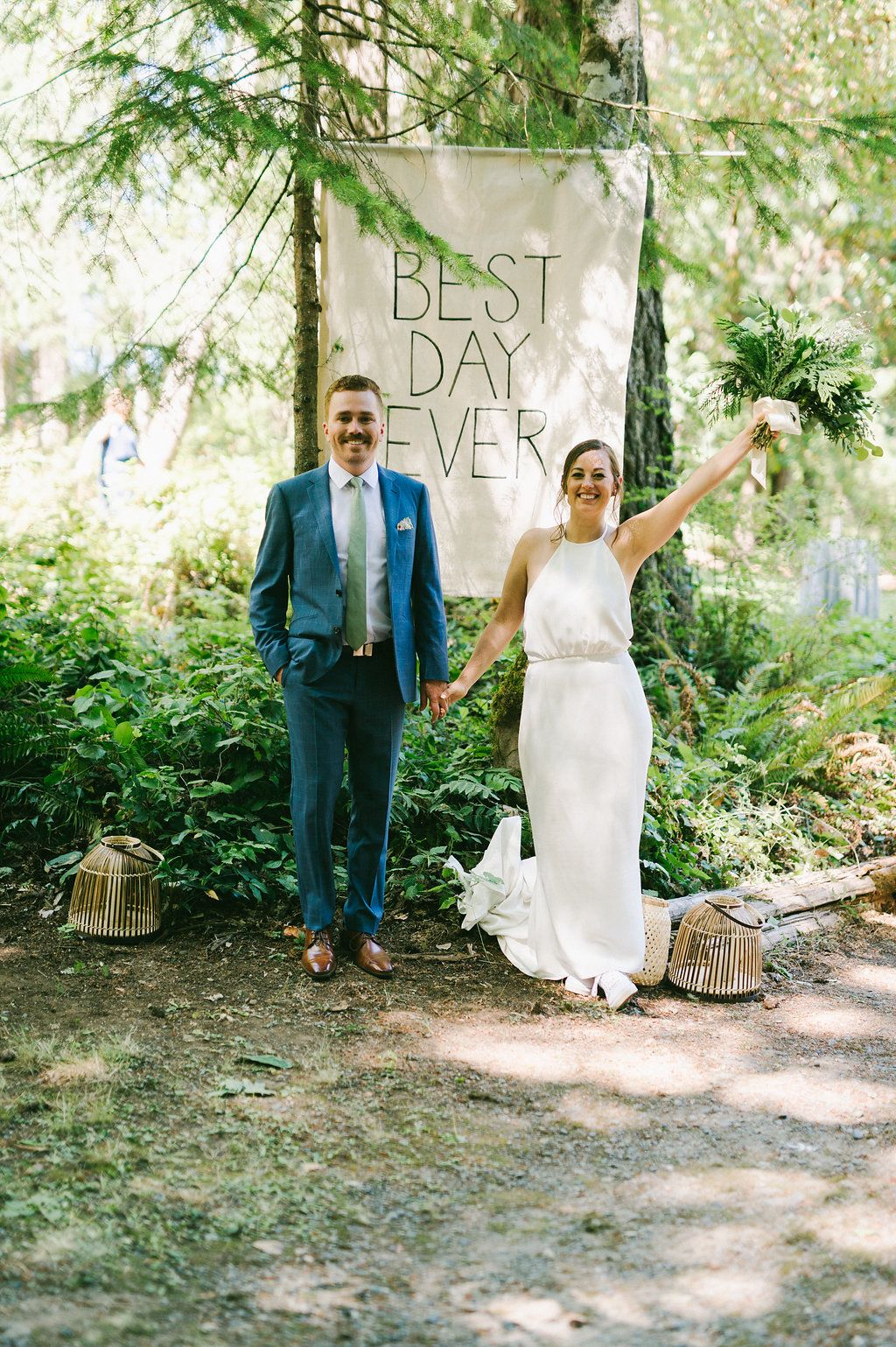 Lisa + Jaime's Wedding in the Forest in 2020 | Mountain ...