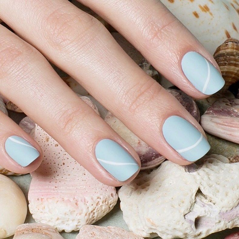 33 Pretty manicure that you can easily do | Easy nail art, Manicure ...