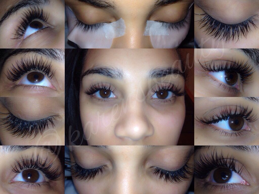 Before and After Lash Extensions...book a consultation by