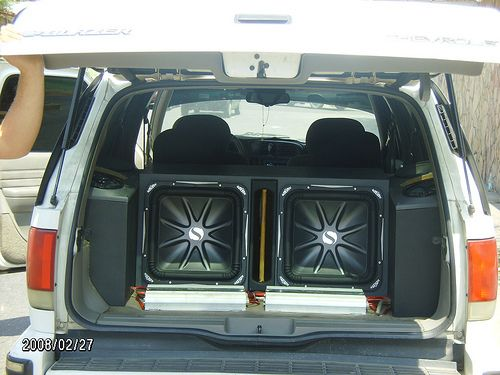 Kicker L7 15 Custom Subwoofer Box Car Stereo Systems Car Audio