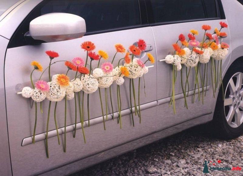 Украшение машин на свадьбу | 819 Фото идеи (с ...