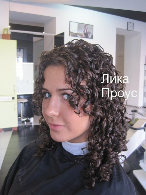 Nice Perm Style With Layers Around Face Permed Hairstyles Hairdos For Short Hair Curly Hair Styles