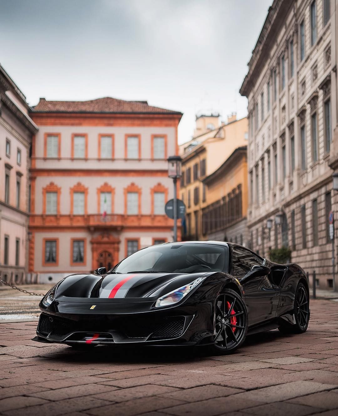 Ferrari Limited Edition On Instagram Ferrari 488pista Black Sports Car Sports Cars Ferrari
