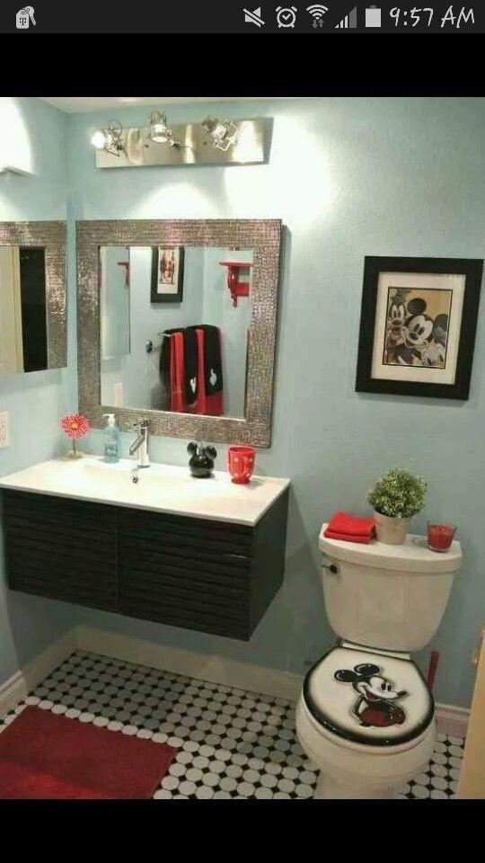 Mickey mouse bathroom image by Krystal Chaklos on Disney ...