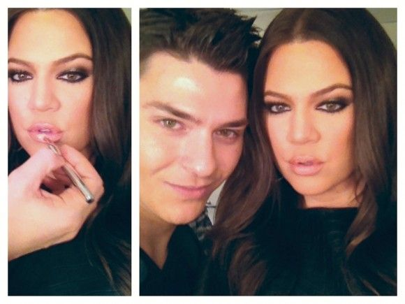 Khloe Kardashian's Makeup Artist Mario Dedivanovic Guest Blogs How-To on Khloe's X Factor Makeup