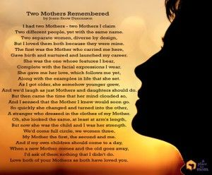 Poem: Two Mothers Remembered