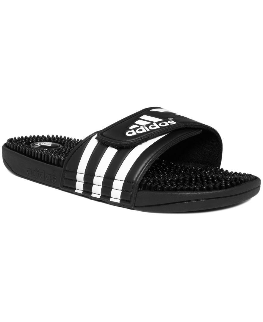 adidas Sandals, Adissage Slide Sandals from Finish Line