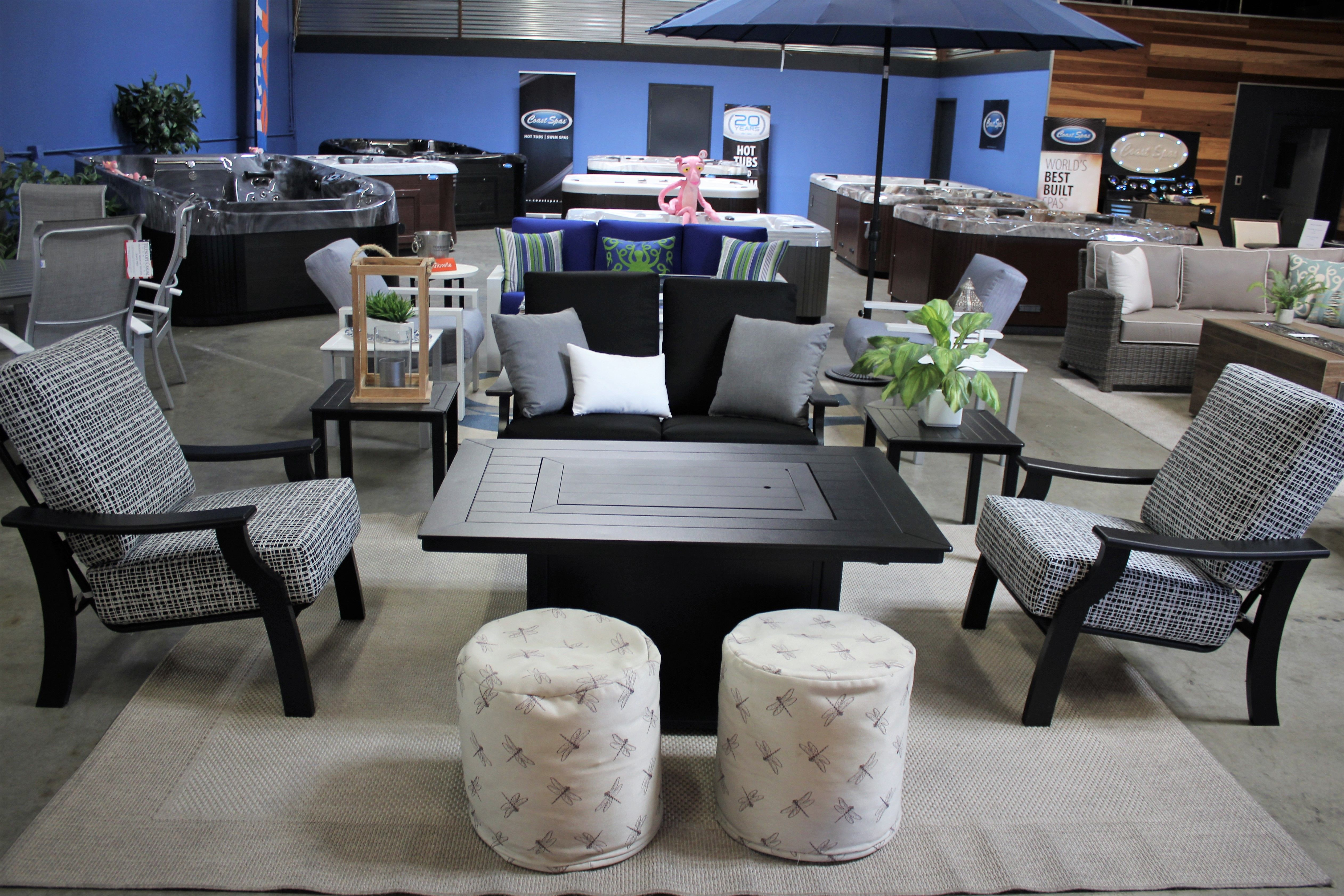 Telescope Casual Furniture For Outdoors Showroom Outdoor
