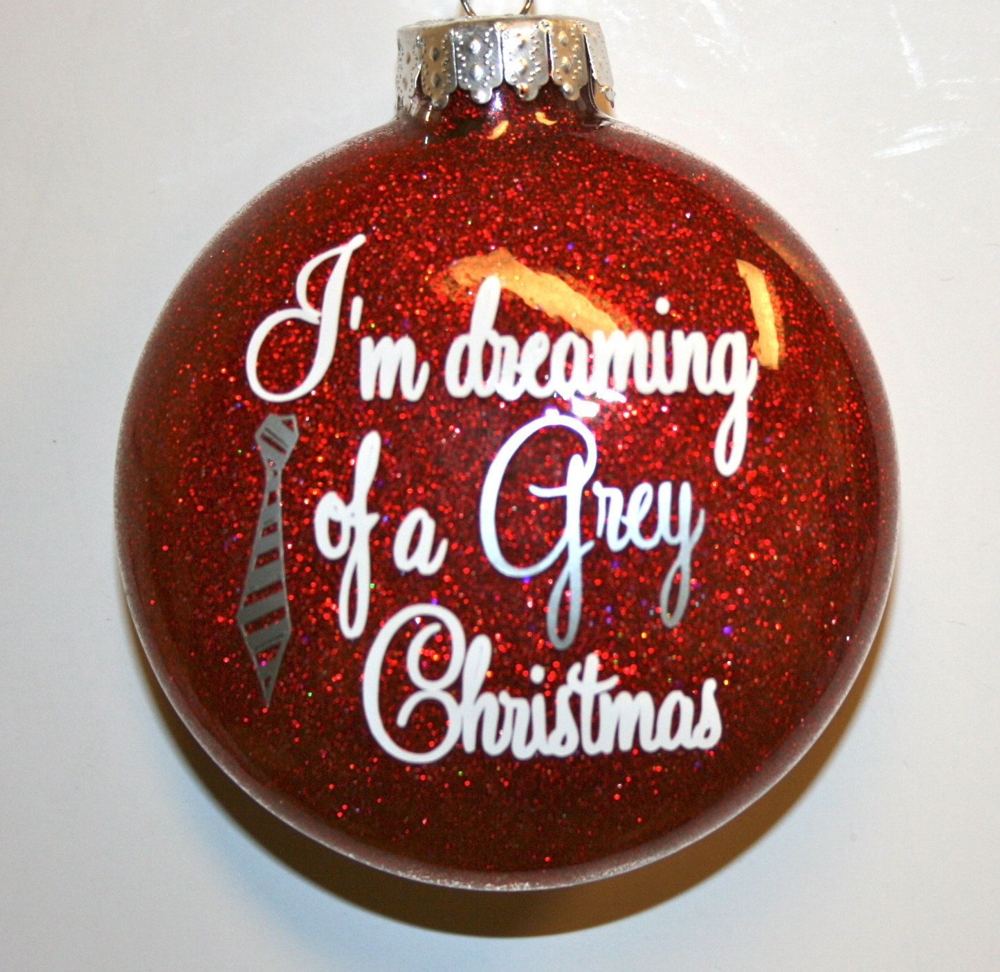 Haha If Only We Still Lived Together And Had A Joint Christmas Tree Jessica Kalbrosky Grey Ornaments 50 Shades Of Grey Shades Of Grey