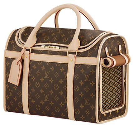 Louis Vuitton Dog Carrier More
