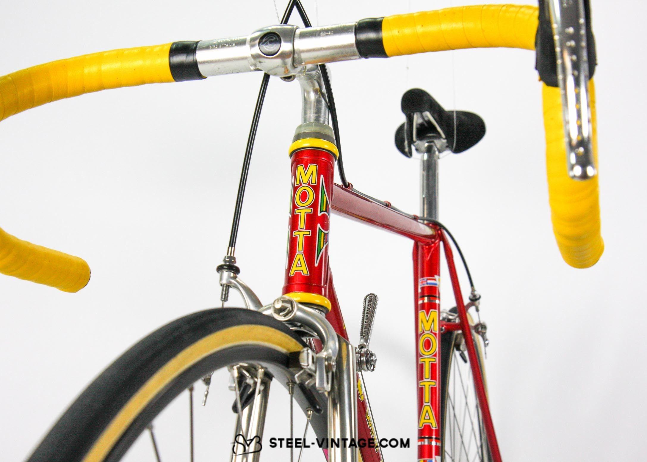 Steel Vintage Bikes Gianni Motta Personal Classic Racing Bike