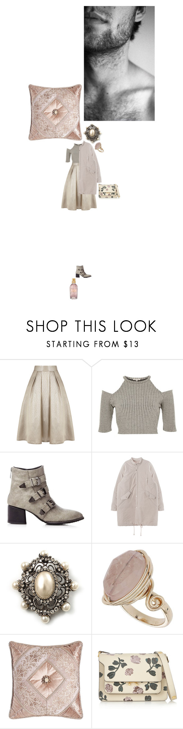 """Приласкай меня"" by anya-moscow ❤ liked on Polyvore featuring Coast, River Island, Avalaya, Topshop, Dian Austin Couture Home, Marni, L'Occitane, set, look and fashionset"