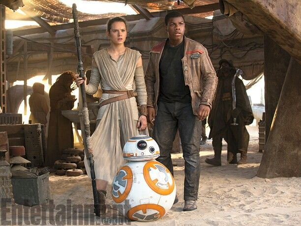 Star wars The force awakens Rey bb8 finn
