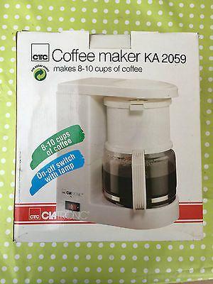 Kaffeemaschine Teemaschine Clatronic KA 2059 in weiß in
