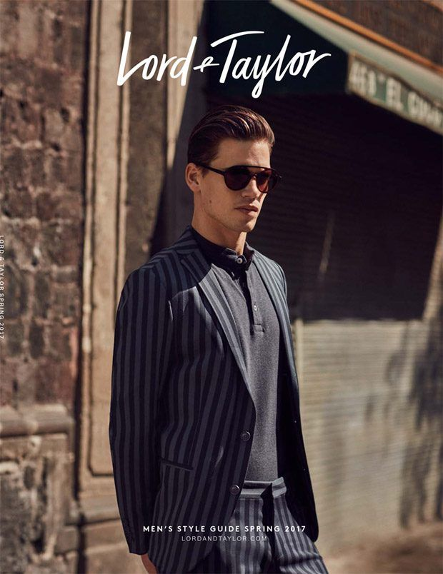 230aca4223 Top Models Pose for Lord   Taylor Spring 2017 Men s Style Guide ...