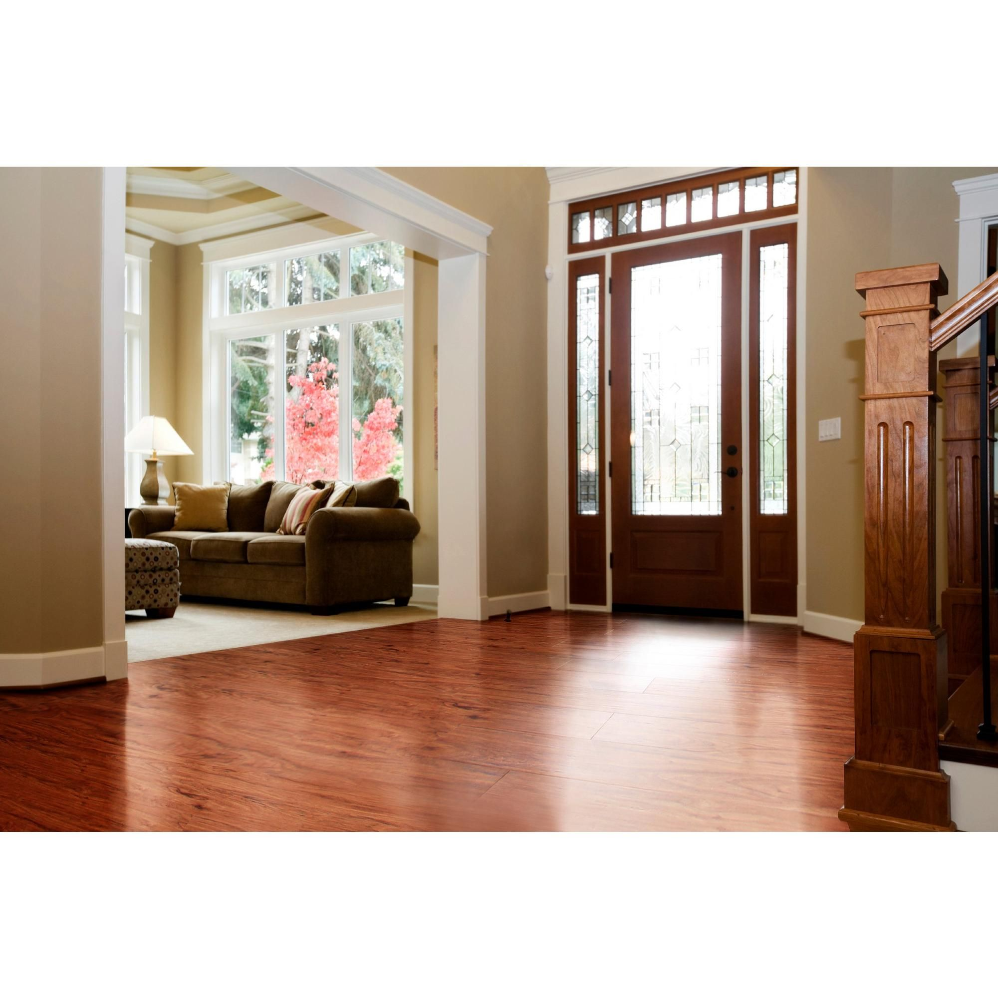 Nucore Sunset Hickory Hand Sed Plank With Cork Back 6 5mm 100109776 Floor