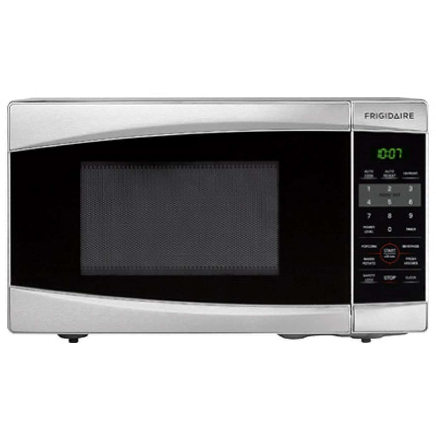 0 7 Cu Ft Stainless Steel Countertop Microwave Countertop