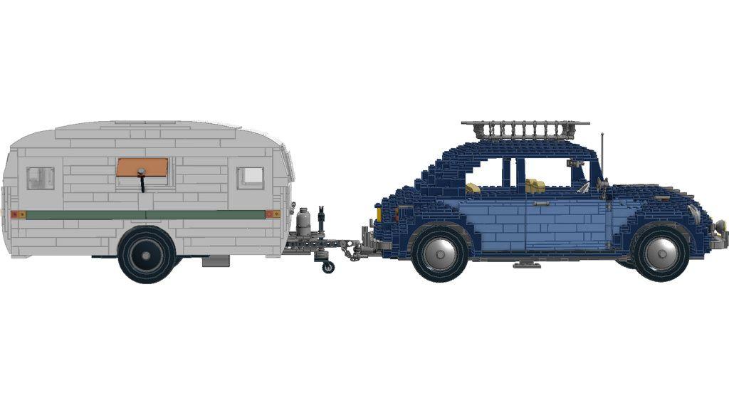 10187 Volkswagen Beele Modded With Caravan Httpflickr