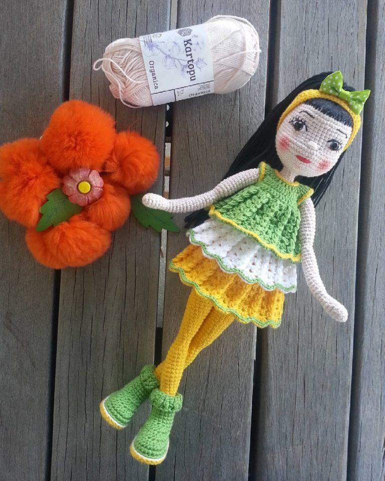 Free Crochet Amigurumi Doll Pattern Tutorials | Crochet dolls | 960x768