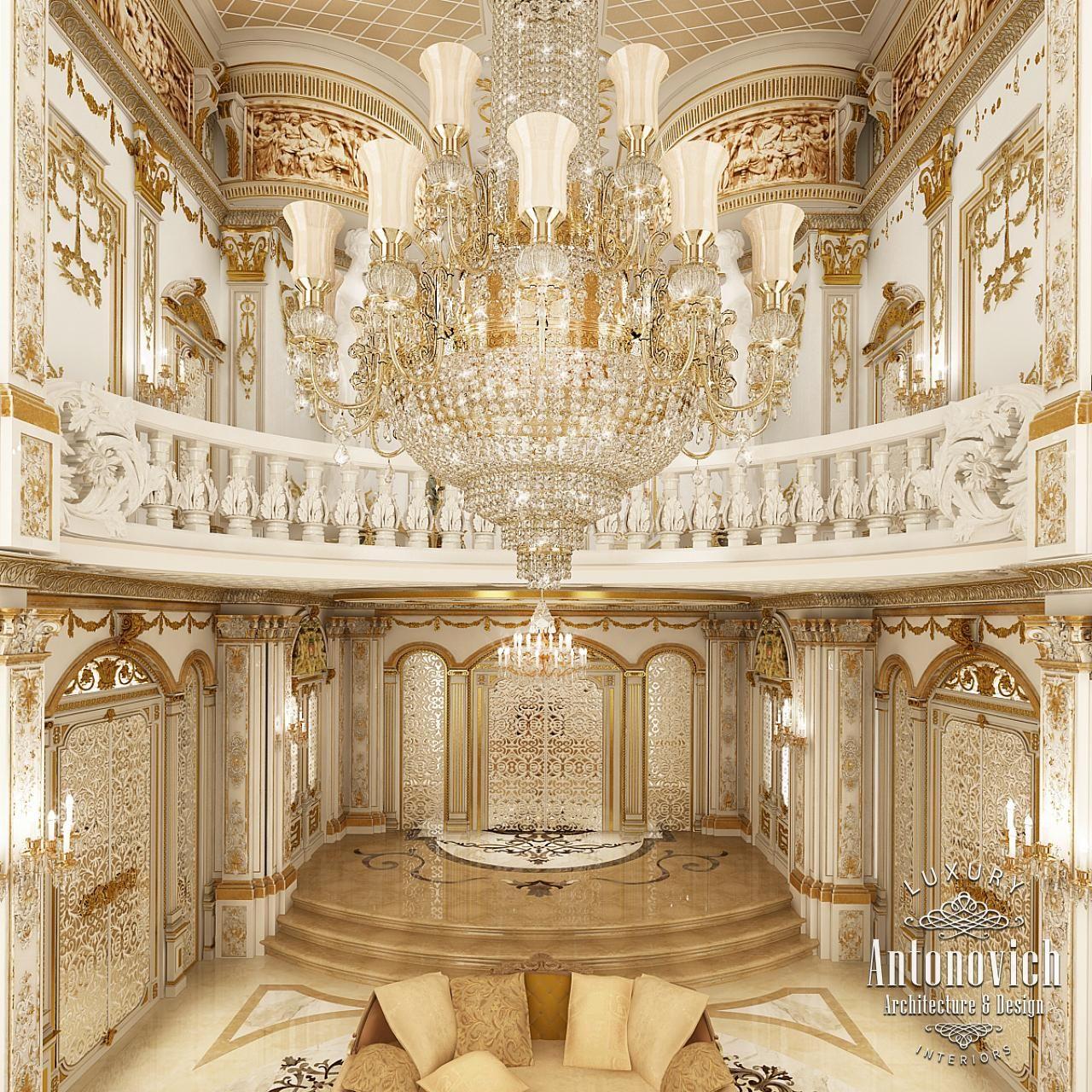 Luxury Residence By Dallas Design: Villa Interior Design In Dubai, Luxury Residential Villas