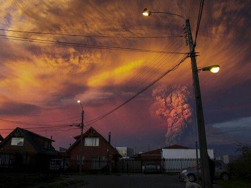 Volcán Cabulco #Chile