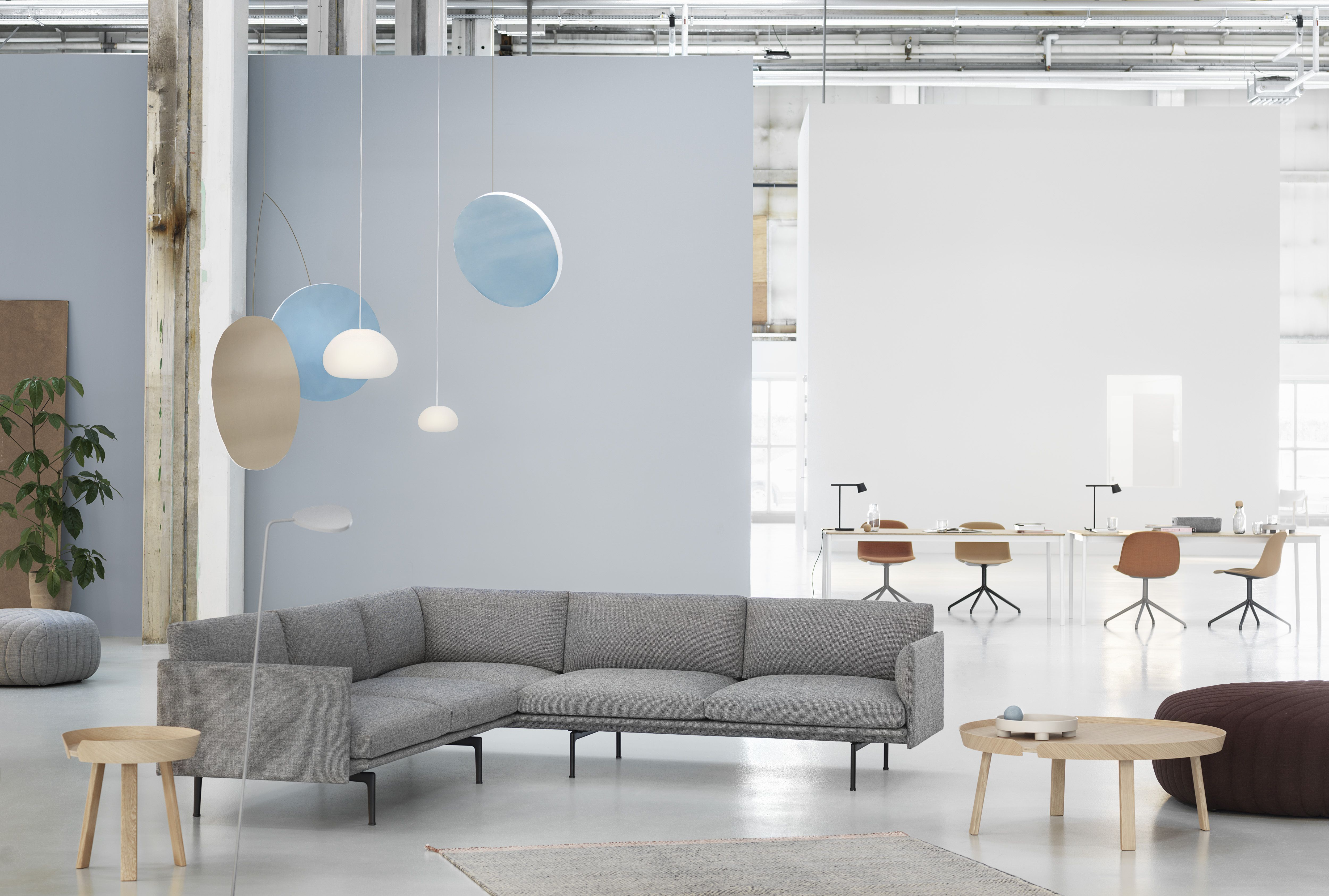 Embodying The Design Language Of The Outline Sofa Series Is The Outline Corner Sofa An A Living Spaces Sofa Muuto Furniture Scandinavian Sofa Design