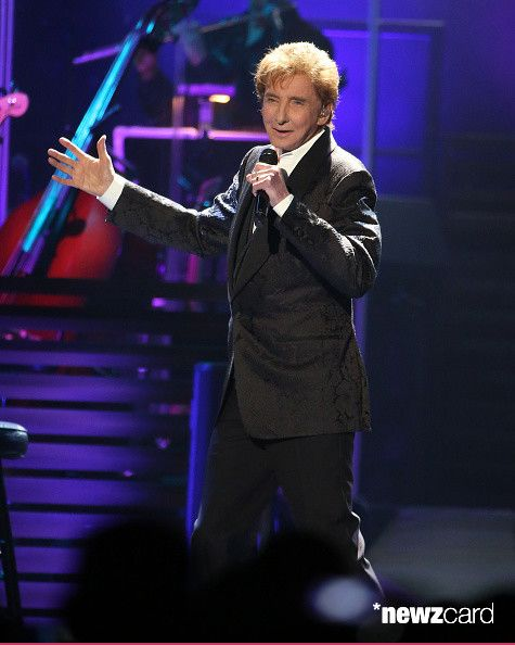 Barry Manilow Performs During The Final Date Of His One Last Time