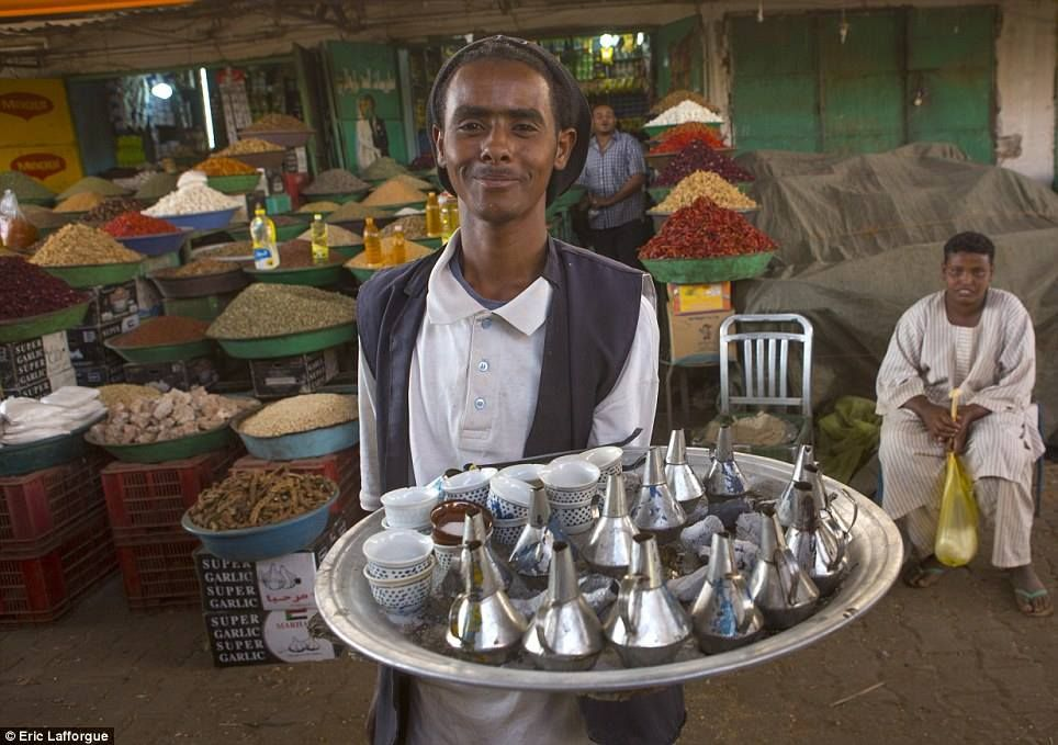 "a sudanies coffee called ""Gabana"" by Eric Lafforgue"