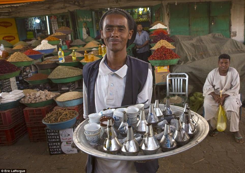 "a sudanies coffee called ""Gabana"" by Eric Lafforgue"