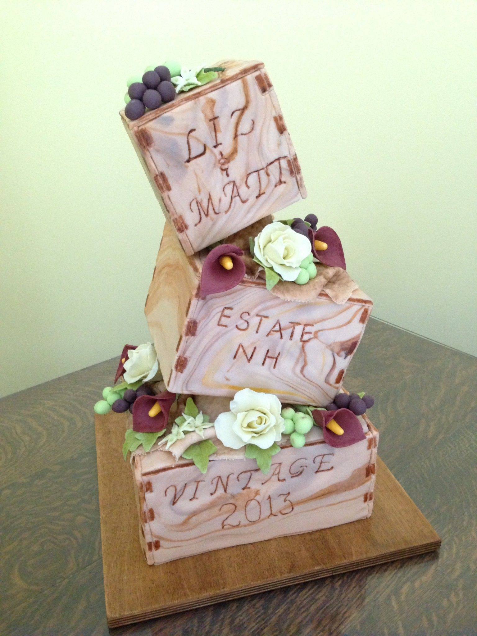 Wedding Cakes Archives - MasterPieces Cake Art