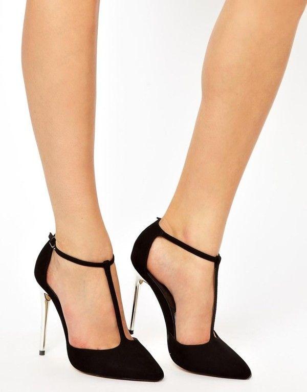 moda para adolescentes 2014 Zapatos tacon tacon Zapatos alto de punta PLAYGROUND c3dd81