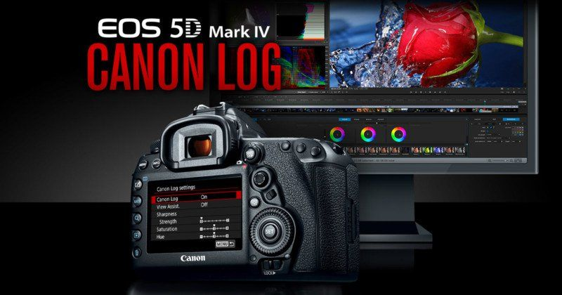 Canon 5d Mark Iv C Log Upgrade Now Official But It Comes With A