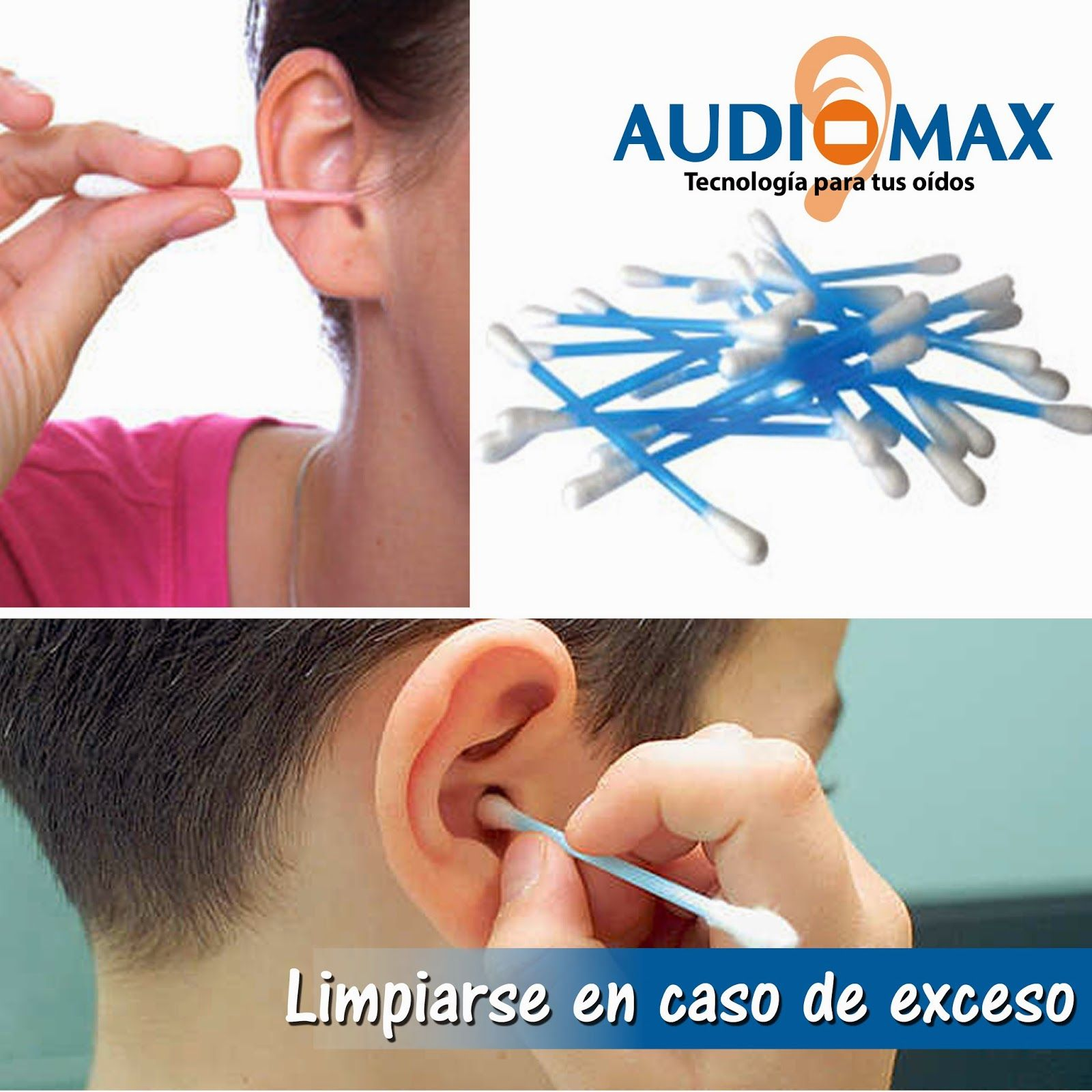 Audiomax: La cera de los oídos solo debe limpiarse en caso d...