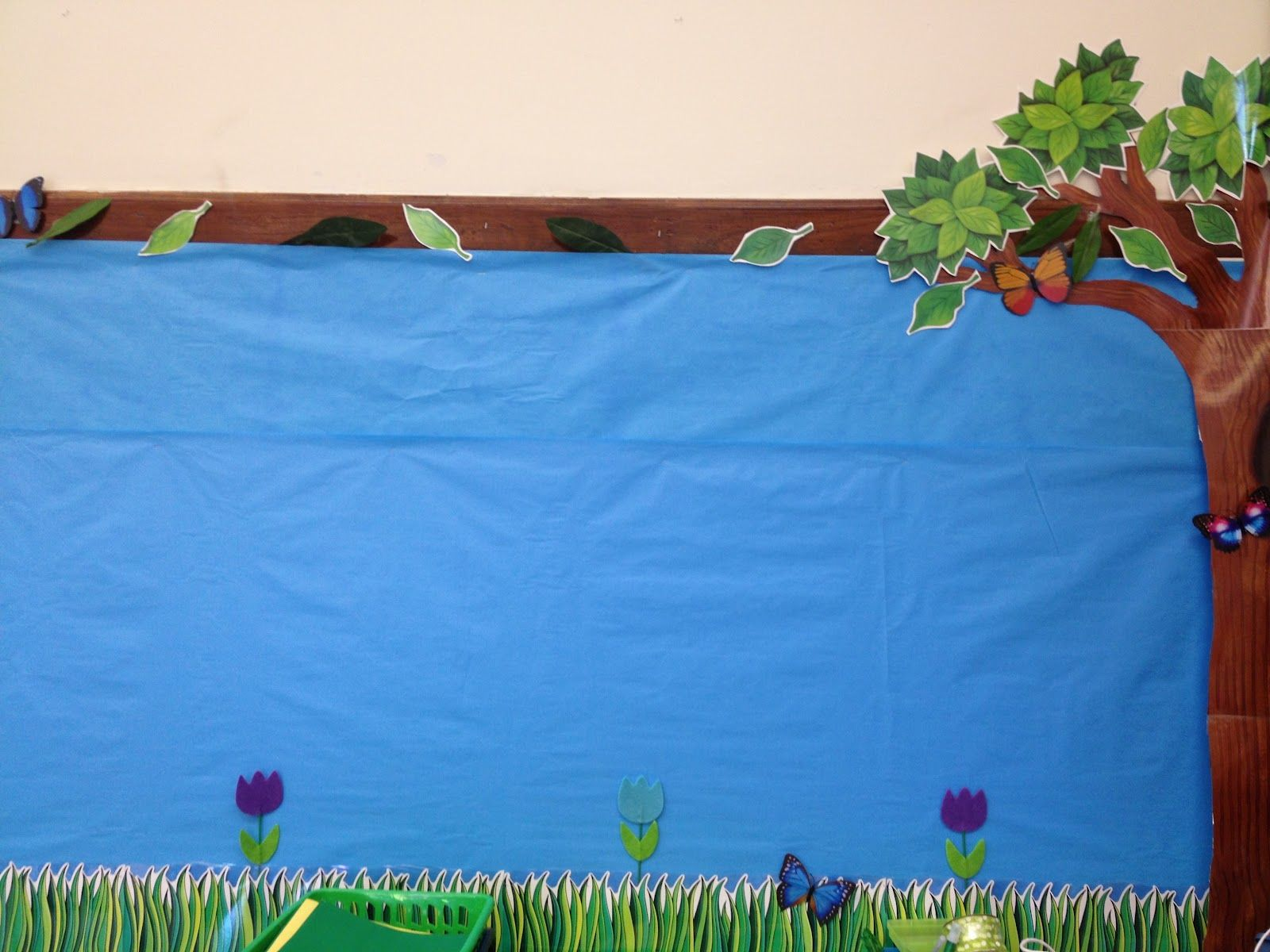 Classroom Decor Ideas For Preschool ~ Forest pond themed could make into a game some type