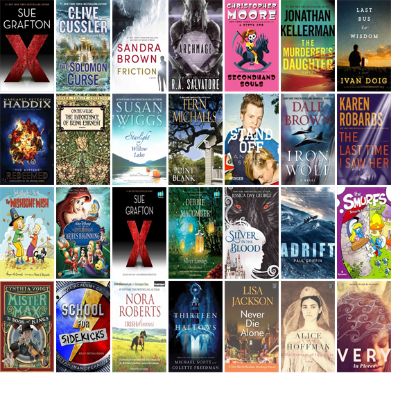 """Wednesday, September 16, 2015: The Corbin Public Library has nine new bestsellers, two new videos, six new audiobooks, six new children's books, and 19 other new books.   The new titles this week include """"X is for...,"""" """"The Solomon Curse,"""" and """"Friction."""""""