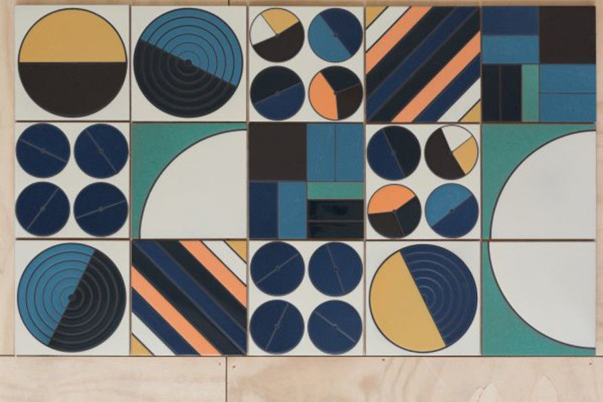 Handcrafted Tiles Inspired By Earth Air Fire And Water Bring Organic Forms Into Indoor And Outdoor Residential Space Tile Artwork Fireclay Tile Tile Design