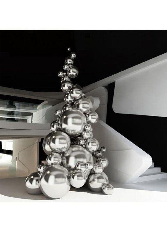 Decoraci n navide a de estilo n rdico minimalista moderna christmas pinterest decoraci n - Decoracion navidena minimalista ...