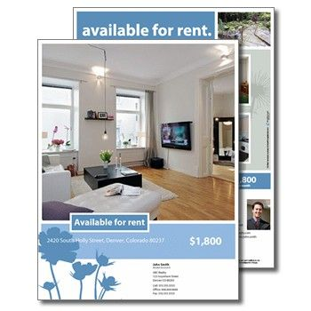 example apartments for rent marketing flyer - Google Search