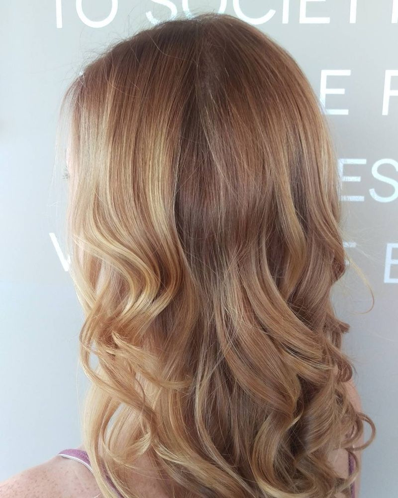 Strawberry Blonde Hairstyles 17 Photos Of Hair