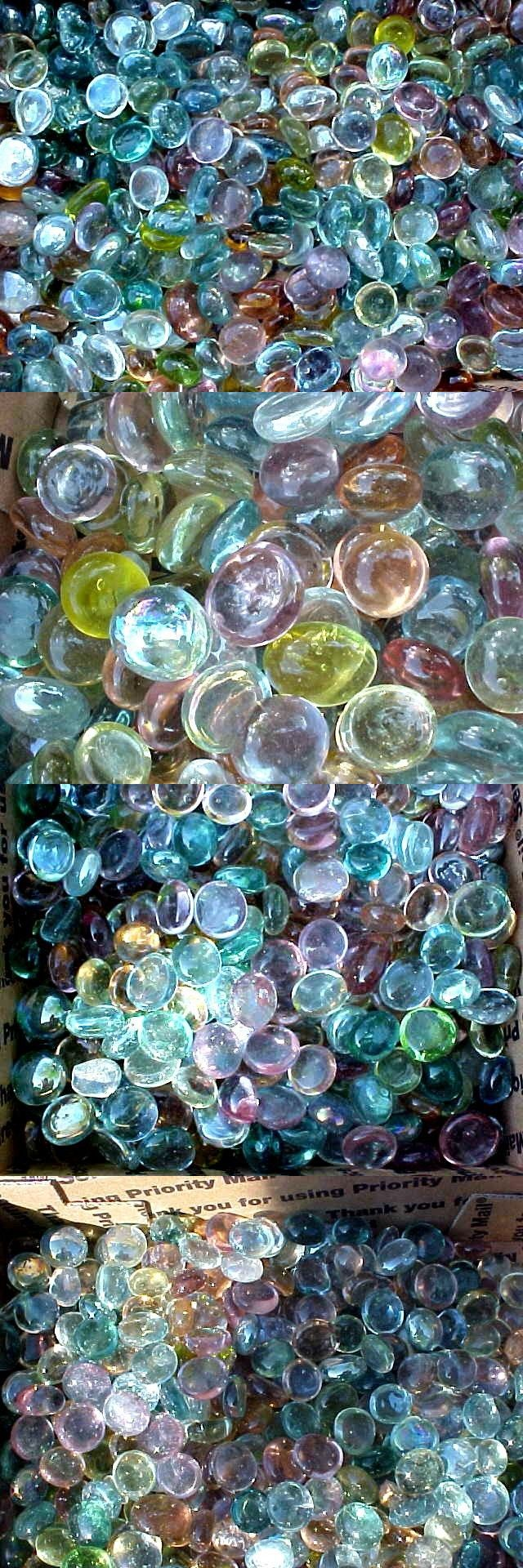 10 Lbs Pastel Flat Glass Marbles Gems Vase Fllers Fish Tank Mosaic 21 99 Glass Art Glass Marbles Art