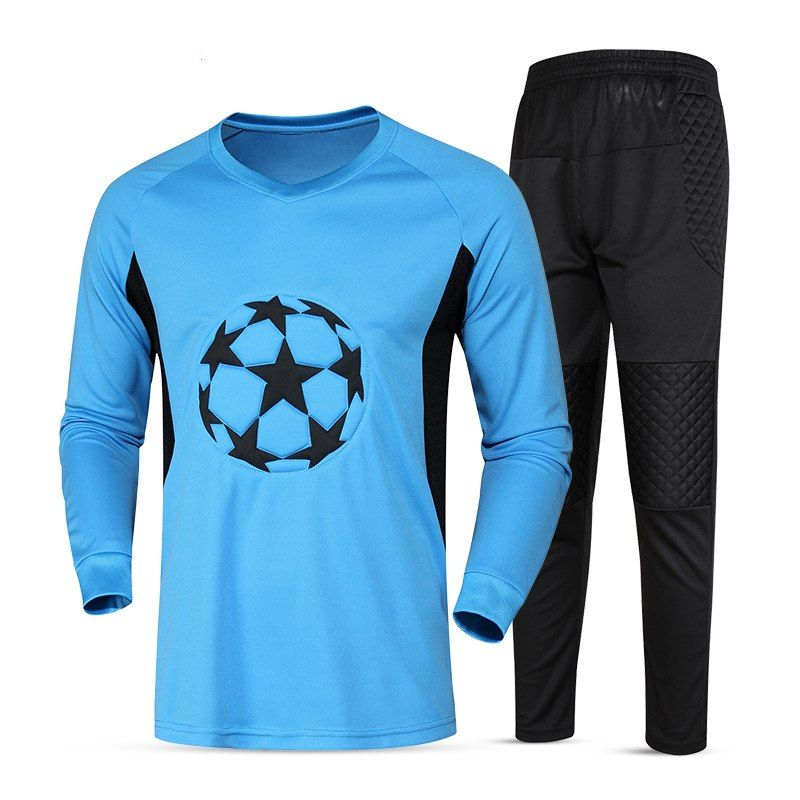 e17d02507b5 2017 New High Quality Men Full Goalkeeper Jerseys Kits Goalie Football  Jerseys Training Suit Soccer Goal Keeper Jerseys Uniforms